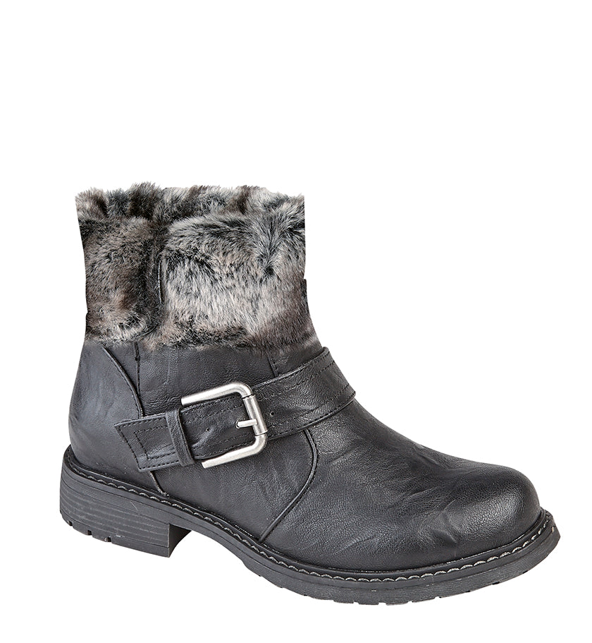 "Ladies Cipriata ""Andreana"" Biker Style Ankle Boot"
