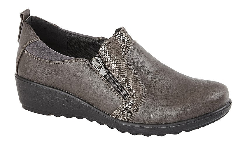 Womens Boulevard Twin Zip Shoe