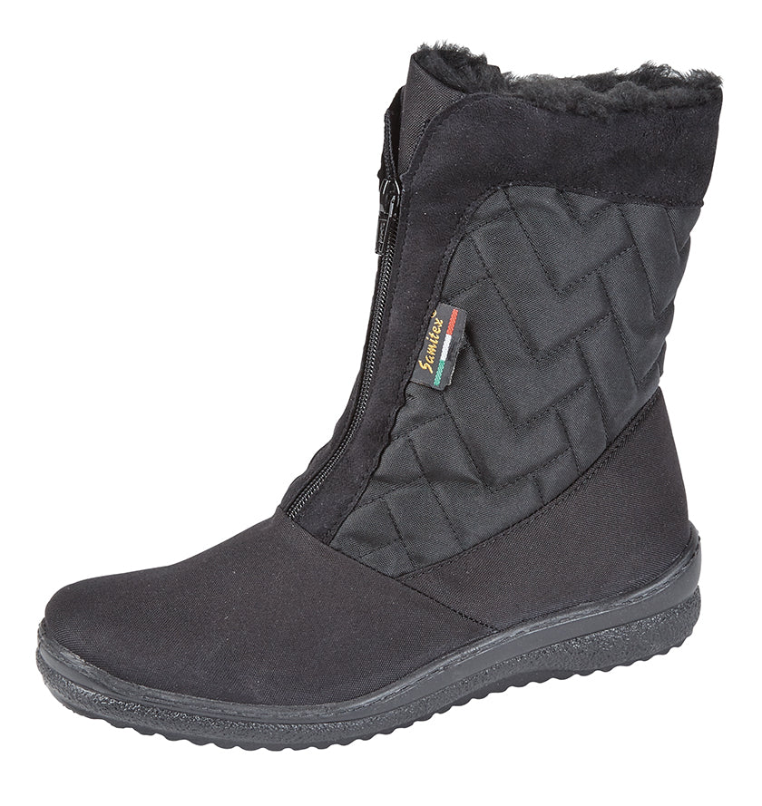 Ladies Mod Comfys Waterproof Foot Warm Lined Boot