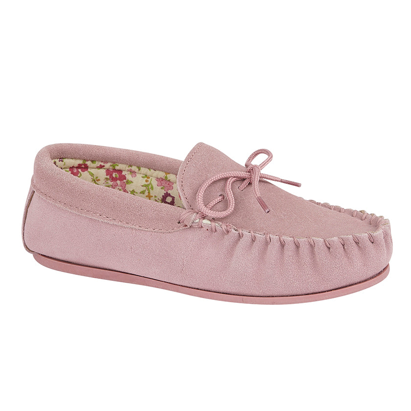 Ladies Mokkers Moccasin Slipper