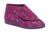 Ladies Extra Wide Comfylux 'Andrea' Slipper