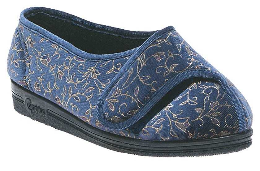 Ladies Extra Wide Comfylux 'Helen' Slipper