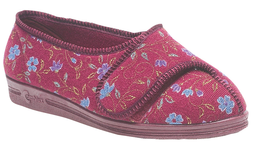 Ladies Extra Wide Comfylux 'Davina' Slipper
