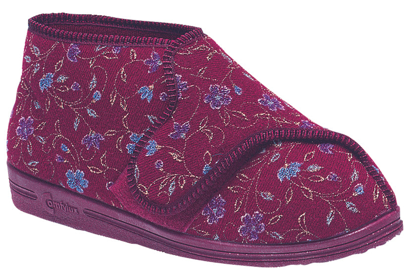 Ladies Extra Wide Comfylux 'Betty' Slipper