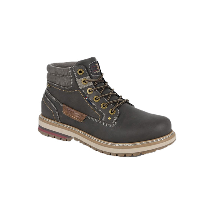 Mens Route 21 6 Eye Ankle Boots