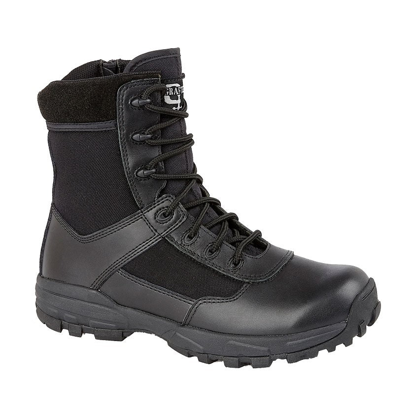 Grafters Non-Metal Lightweight Zipper Combat Boot