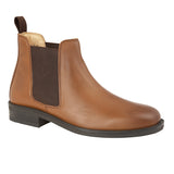 Mens Roamers Leather Gusset Boot
