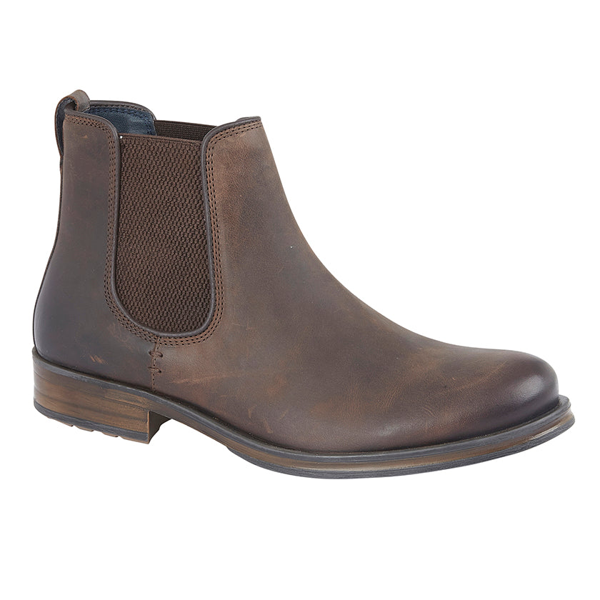 Mens Roamers Twin Gusset Ankle Boot