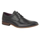 Mens GOOR Black Tramline Shoe