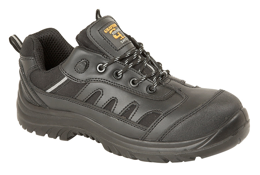 Ladies/Mens Grafters Non-Metal Safety Toe Cap Shoe
