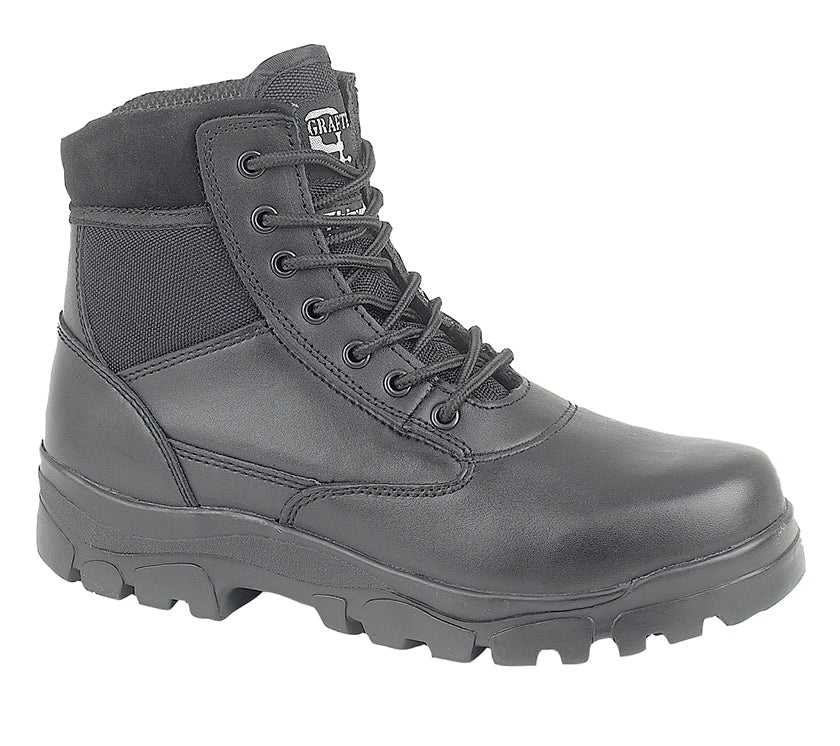 Grafters 7 Eye Combat Boot