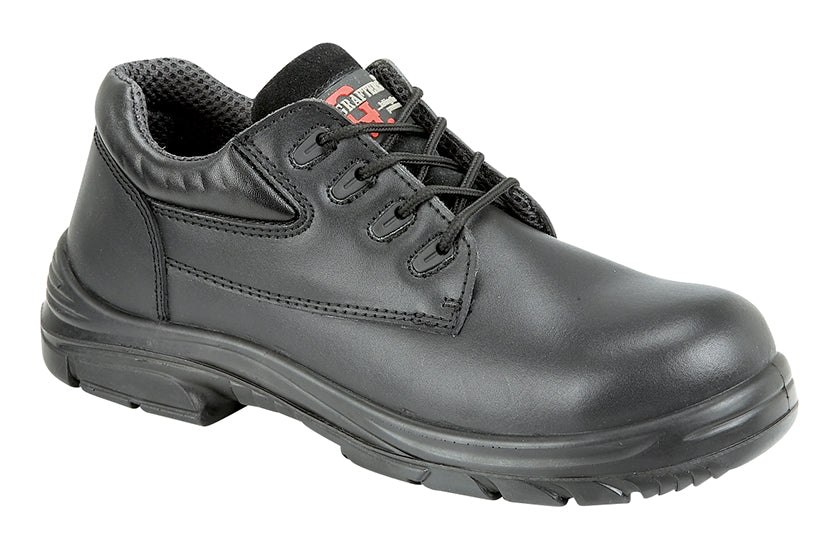 Mens Extra Wide Steel Toe Boot