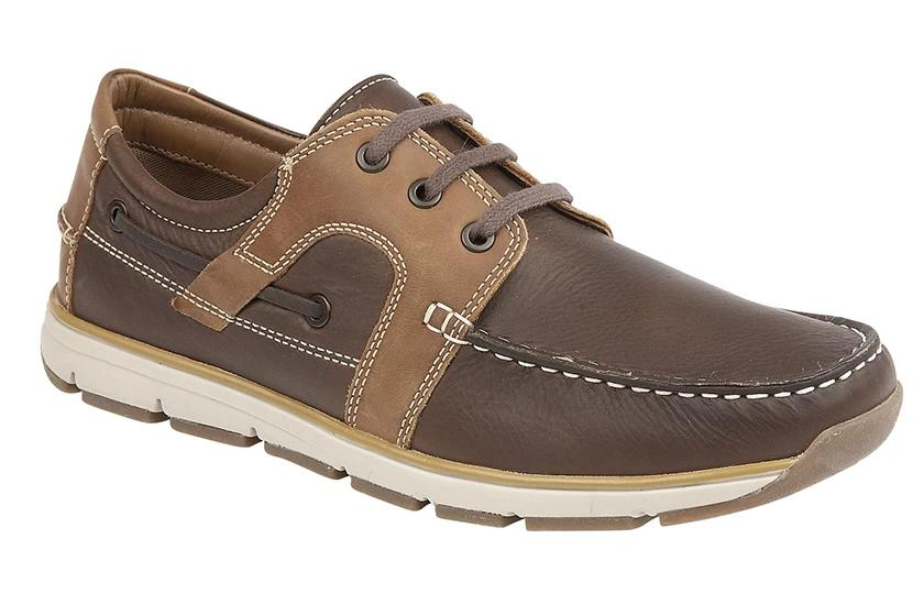 Roamers Superlight Leather Moccasin Leisure Shoe