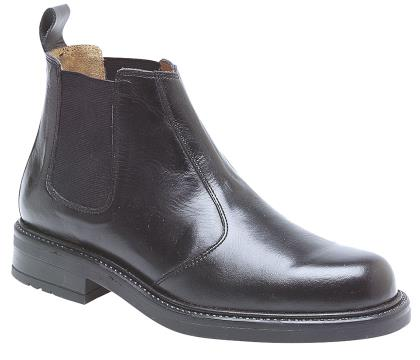 Mens Roamers Leather Chelsea Boot