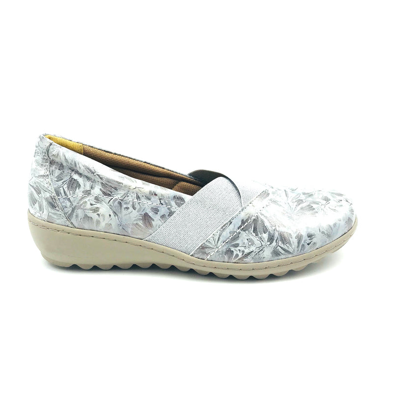 TALK Ladies Silver Shoe Cleo