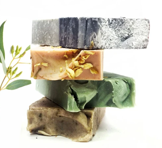 Natural vegan bar soaps by Me & a Tree