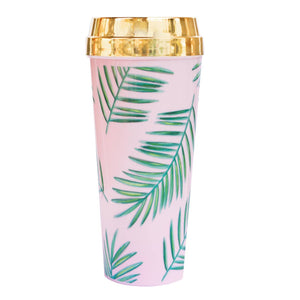 <p>Tropical Palms Travel Mug</p>