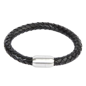<p>Braided Leather Bracelet</p>