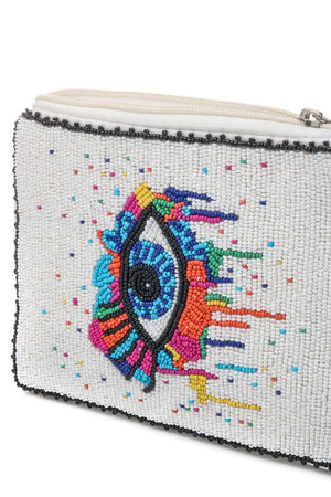 <p>Wynwood Evil Eye Clutch</p>