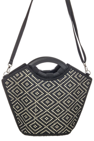 <p>Shira Ethnic Straw Tote</p>