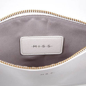 <p>Miss to Mrs Wristlet Clutch</p>