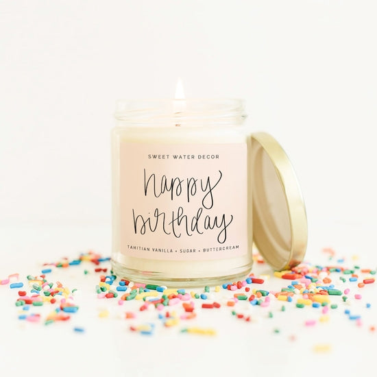 <p>Happy Birthday! Soy Candle</p>