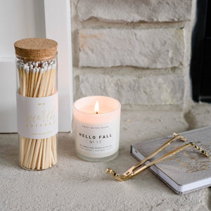 <p>White Hearth Matches XL</p>