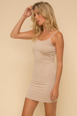 <p>Spaghetti Strap Slip Dress </p>