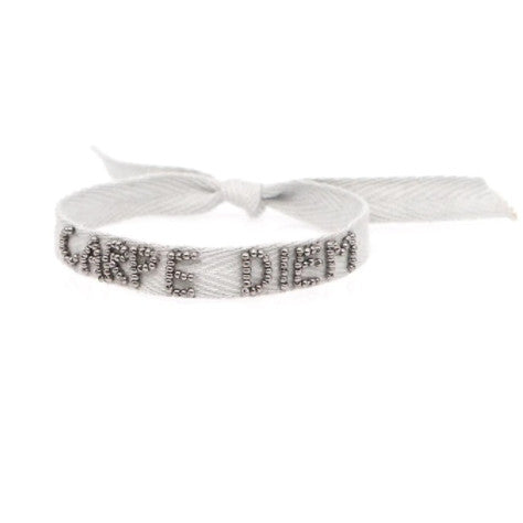 <p>Inspirational Ribbon Bracelet</p>