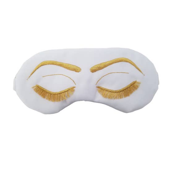 <p>Vintage Glam Satin Sleep Mask</p>