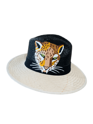 <p>Handpainted Panama Hat (+Designs)</p>