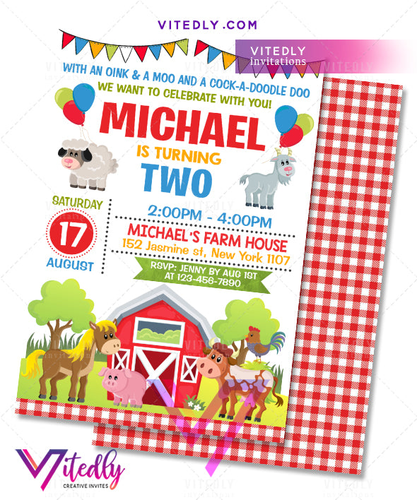 Farm Theme Party, Barnyard Theme Party, Farm Theme party, Farm Themed birthday party, Barnyard invitations