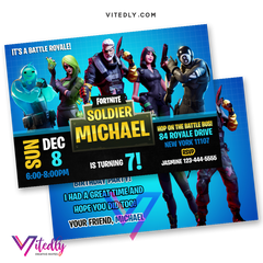 Fortnite Invitation Season 11