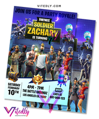 Fortnite Invitation Season 5