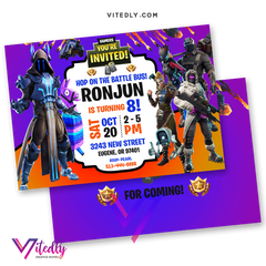 Fortnite Invitations Season 7
