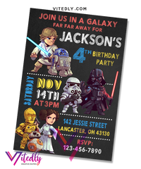 Star Wars Birthday Invitation
