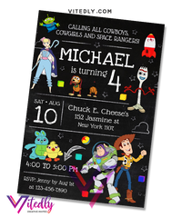 Toy Story 4 Invitation