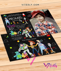 Toy Story 4 Invitations