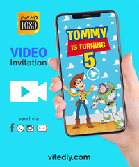 Toy Story Video Invitation