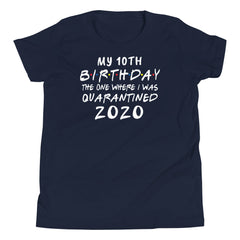 Funny Quarantine Birthday Shirt