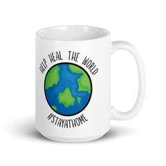 Help Save the World | Stay at Home Hashtag | Quarantine Mug, Quarantine Gift, Social Distancing Gift