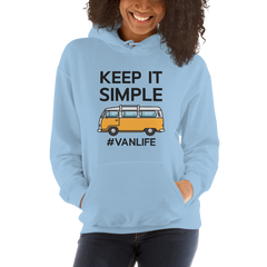 Keep it Simple #vanlife Hoodie | VanLife Hoodie
