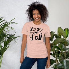 XoXo Y'all T-Shirt, Valentines Shirt