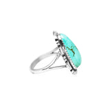 Triangle Shaped Turquoise Ring - Stone 1