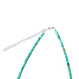 Barrel Shaped Kingman Turquoise Necklace