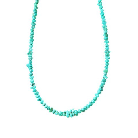 Sleeping Beauty Turquoise Strand Necklace