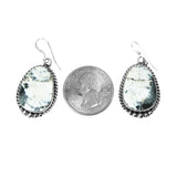 White Buffalo Dangle Earrings - Stone 3