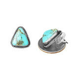 Freeform Kingman Turquoise Post Earrings - Style 3