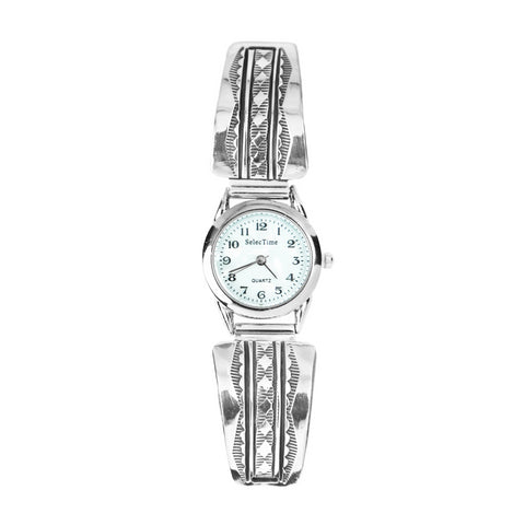 Bruce Morgan Stamped Silver Ladies Watch