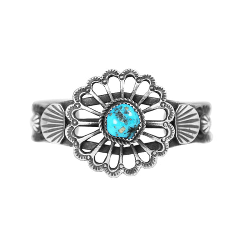 Morenci Turquoise Cast Cuff Bracelet - Style 1